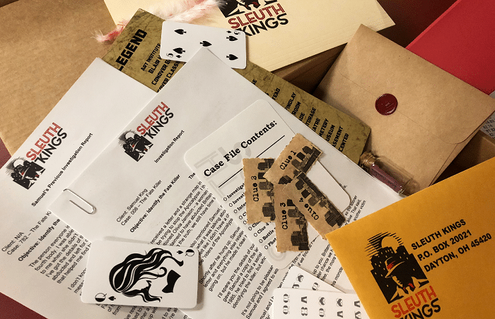 Slueth Kings - A Solve a Mystery Subscription Box
