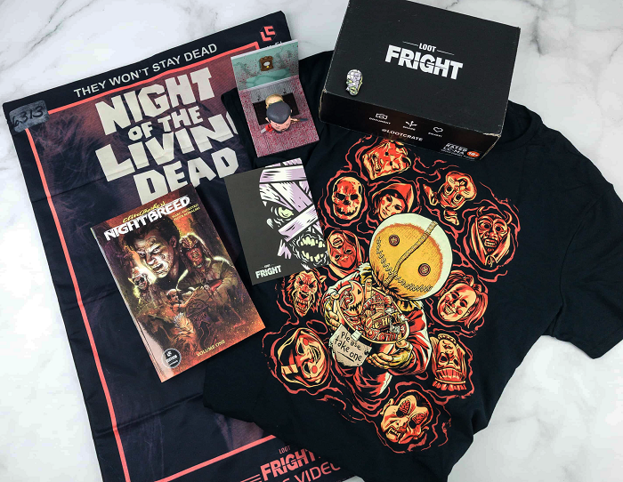 Loot Fright Crate - A Horror Box