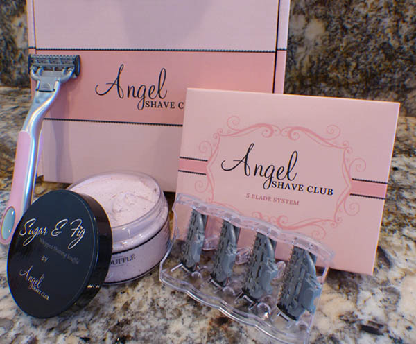 Angel Shave Club - Women Shaving Box