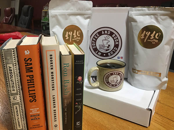 Coffee and Book Club Box