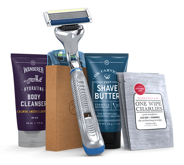 Dollar Shave Club - Free Men's Subscription Box