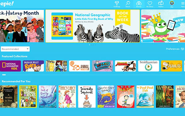 Epic Digital Books for Kids