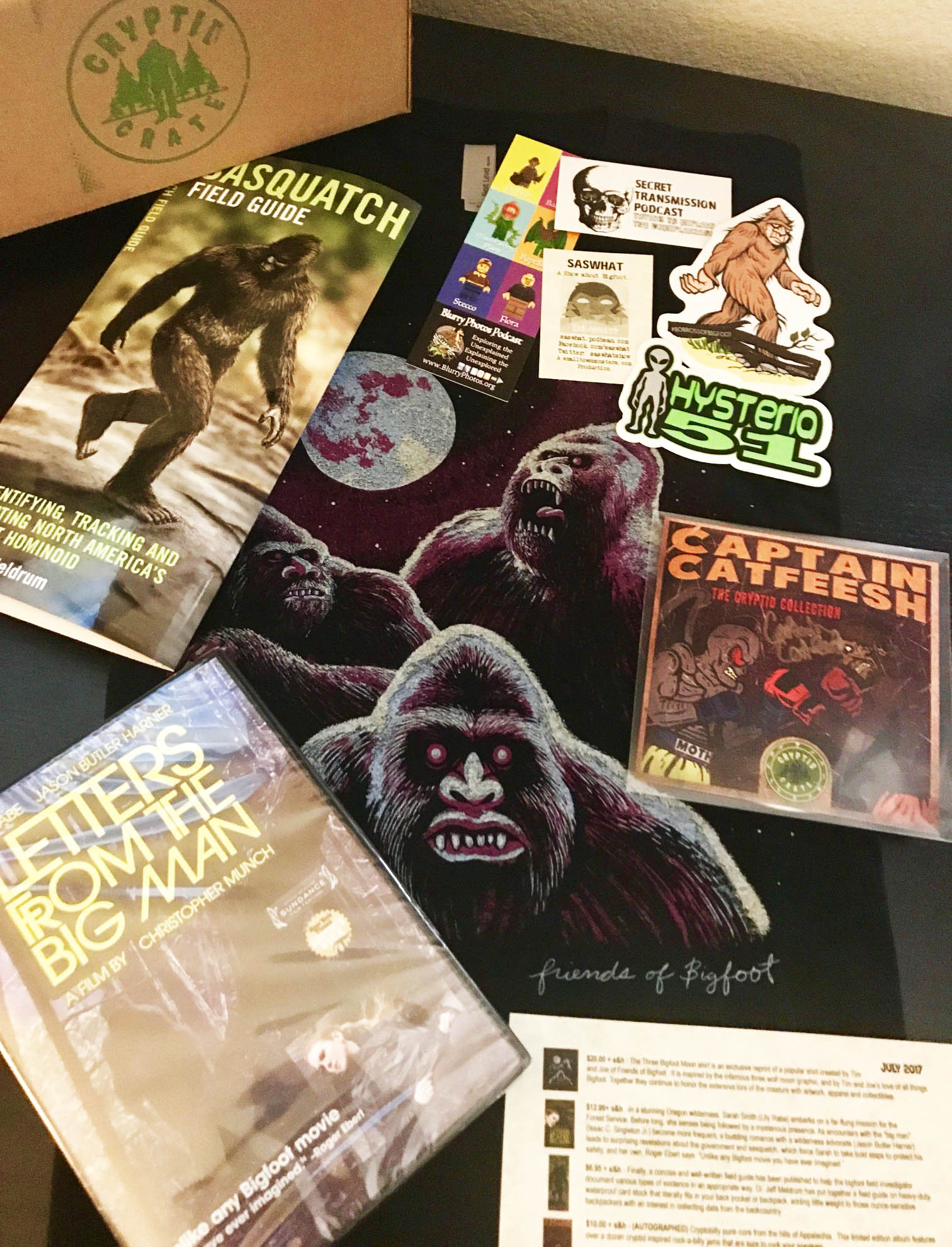 Cryptid Crate - Horror Subscription Boxes