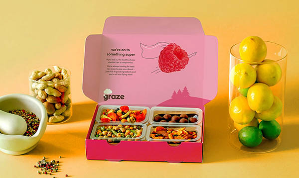 Graze Snack Box For Monthly