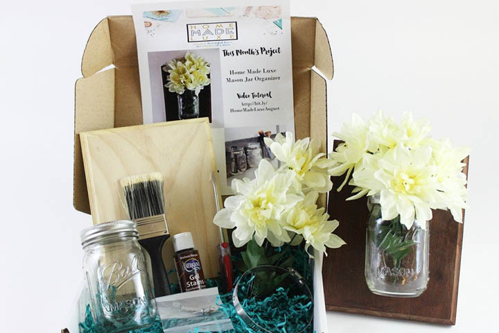 home made luxe - a craft subscription box