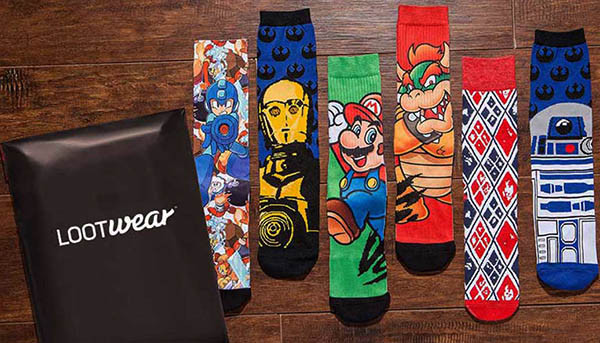 Loot Socks By Loot Crate Boxes