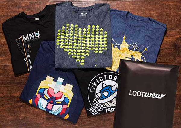 Loot Tees - A T shirt Box