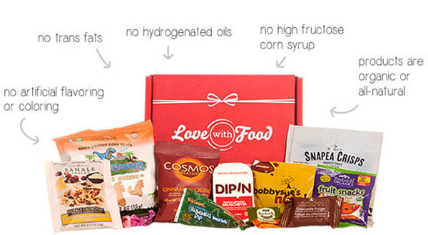 Love with food - Free Snack Subscription Box