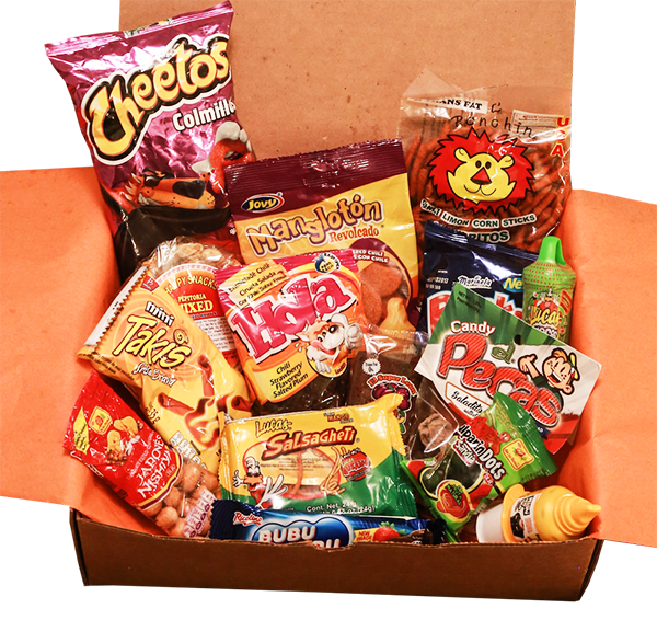 Mexi Crate - A Candy Box