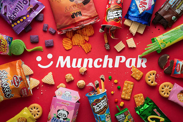 Munchpak - Monthly Snack Box