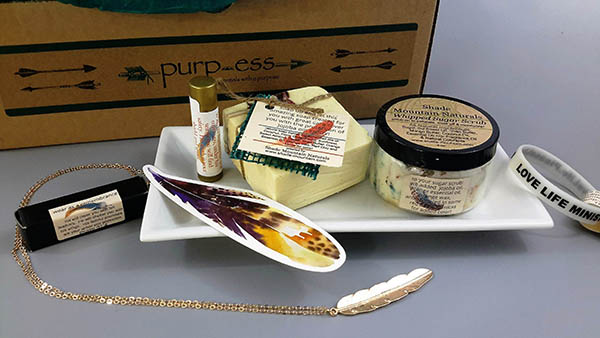 Purp-ess box - A Bath Subscription Box