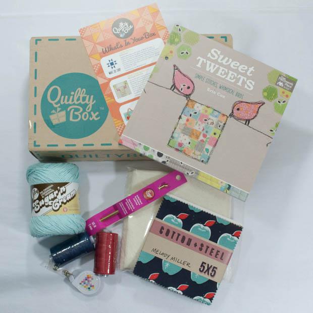 Quilt Box - Yarn Subscription Box