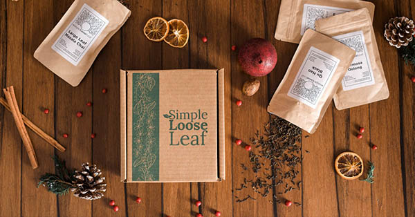 Simple Loose Leaf - Simple Tea Box