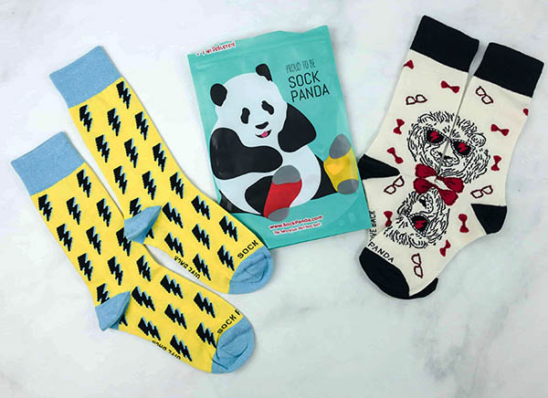 Sock Panda - Cool Cheap Subscription Box