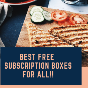 Best Free Subscription Boxes 2019