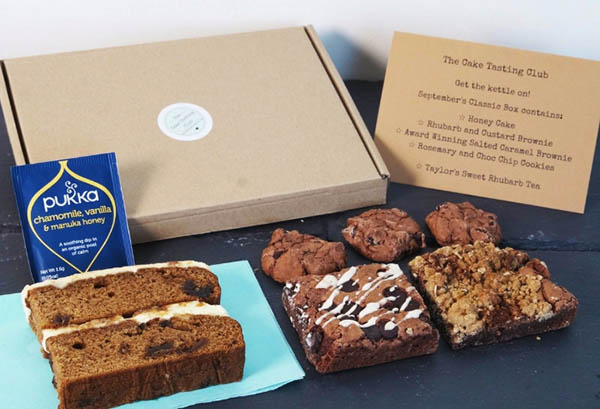 The Cake Tasting Club - A Cake Box Monthly