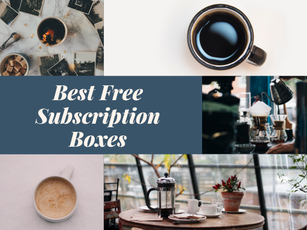 List of all Free Monthly Subscription Boxes for 2019