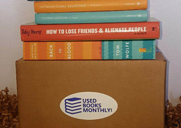 Used Books Monthly Box
