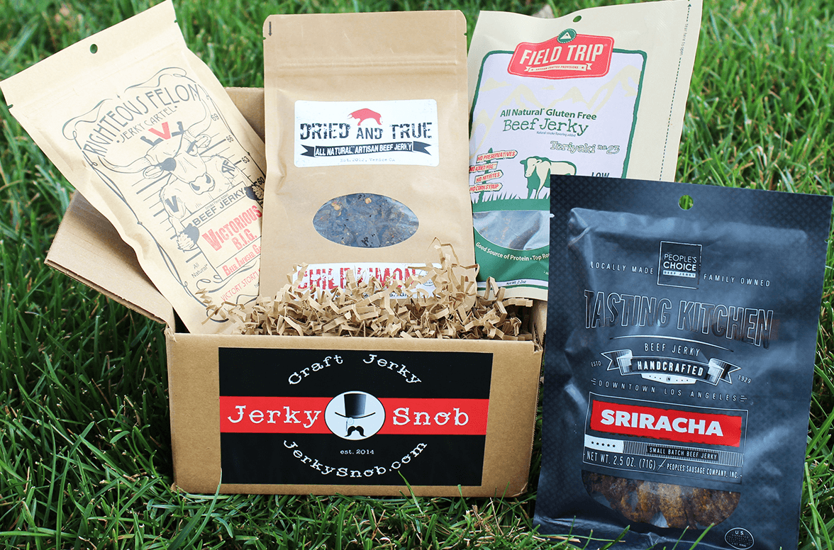 Jerky Snob - Monthly Subscription Box