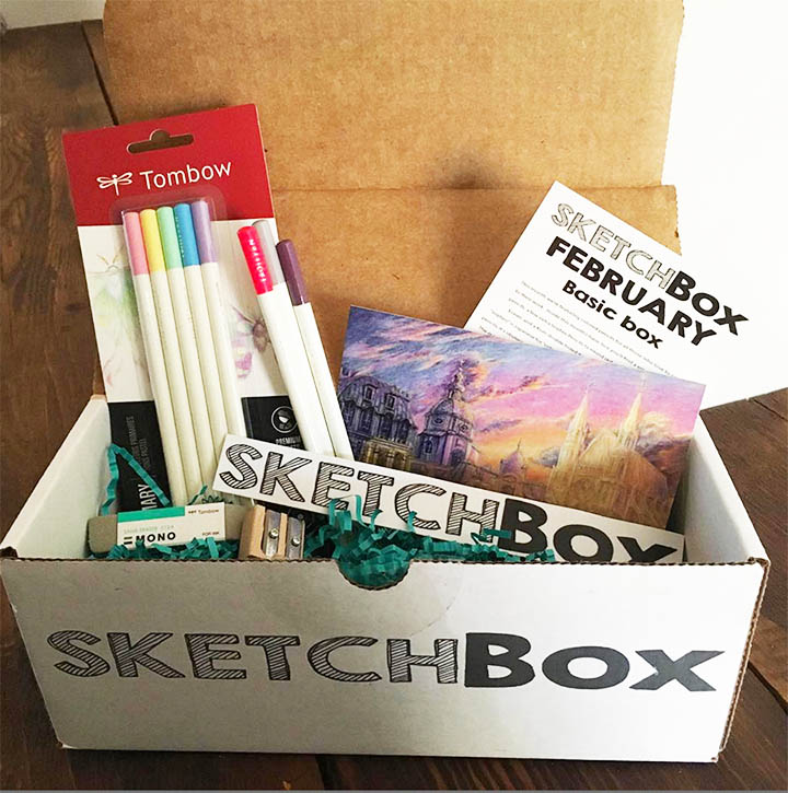 SketchBox - A perfect monthly craft.