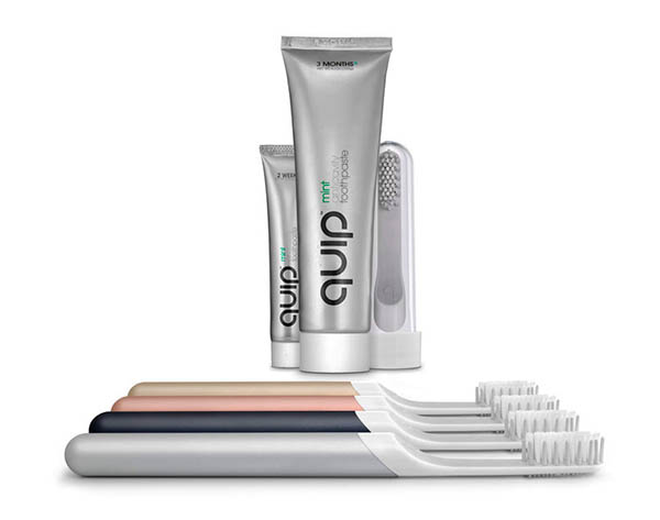 Quip Toothbrush Subscription Box
