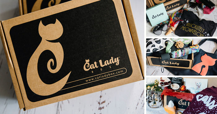 Cat lady A monthly cat box