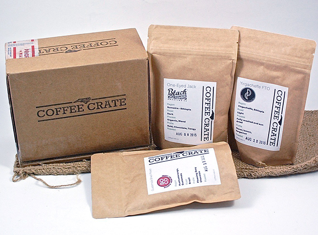 monthly coffee crate
