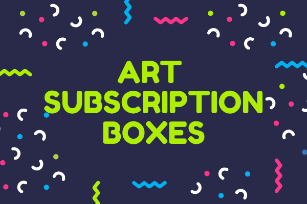best monthly art subscription boxes