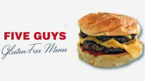 Five Guys gluten free menu