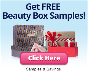Get free beauty samples